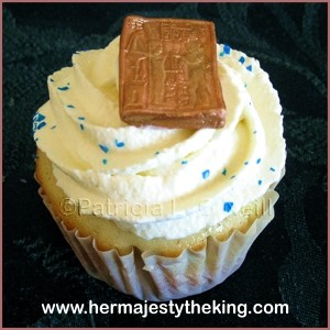 Ancient Egyptian Grand Marnier cupcakes