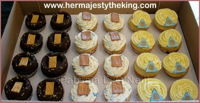 Ancient Egyptian cupcakes