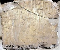 Hatshepsut and Neferure - copyright CNRS/CFEETK